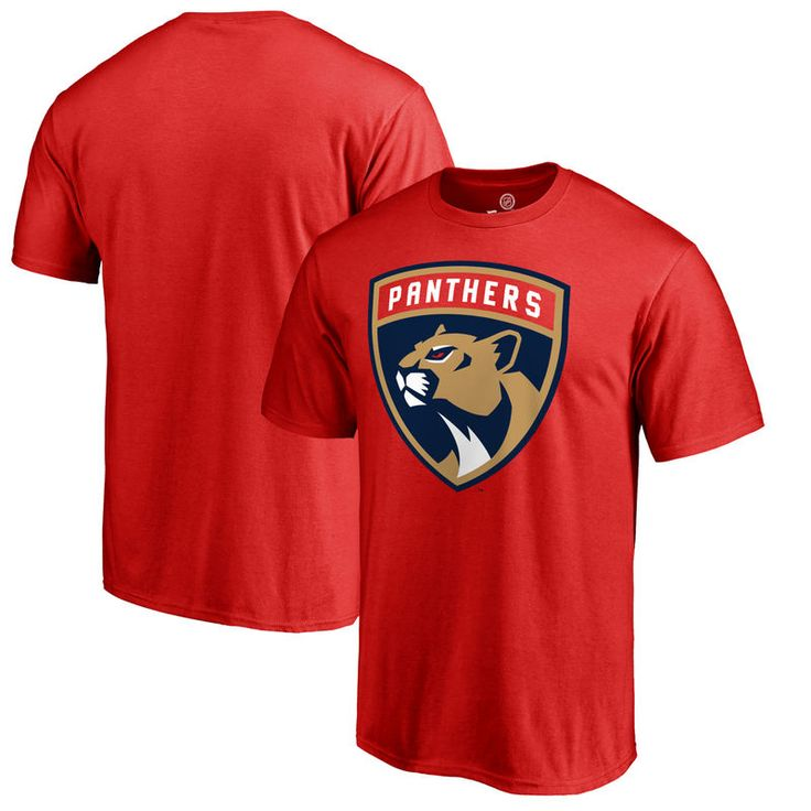 Florida Panthers Primary Logo Big & Tall T-Shirt - Red