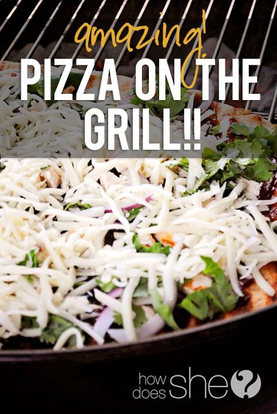 Food and Drink. Amazing Pizza on the Grill!! One of our favorite ways to make pizza now! Love it!