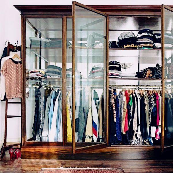 Vintage Display Cabinet U003d Modern Closet