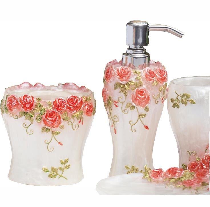 Roses Bathroom Decor