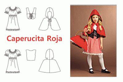 Como hacer la Capa y el disfraz de Caperucita roja
