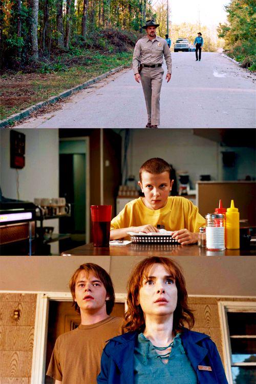 Stranger Things - Netflix - David Harboiur et Winona Ryder