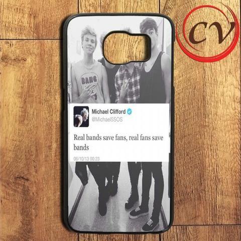 Michael Real Save Fans 5 Sos Samsung Galaxy S6 Edge Plus Case