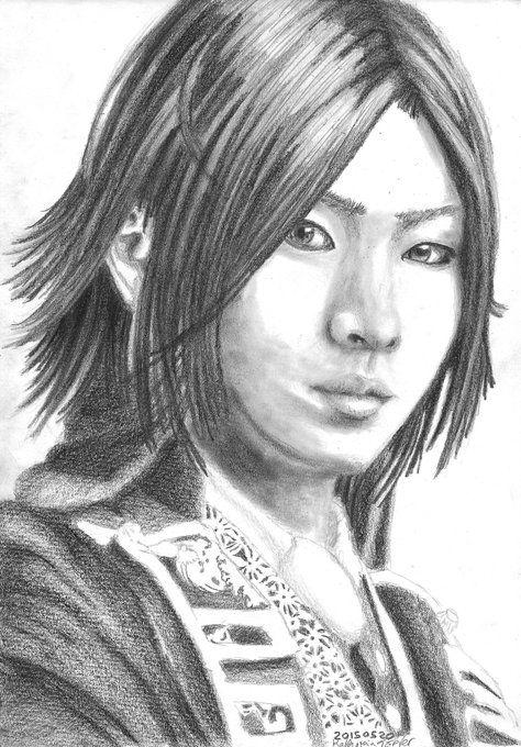 Hijikata Toshizou, Toshizo Hijikata, Shinsengumi, Hakuouki, Hakuoki, Musical Hakuouki, Hakumyu, Yazaki Hiroshi, actors, portrait