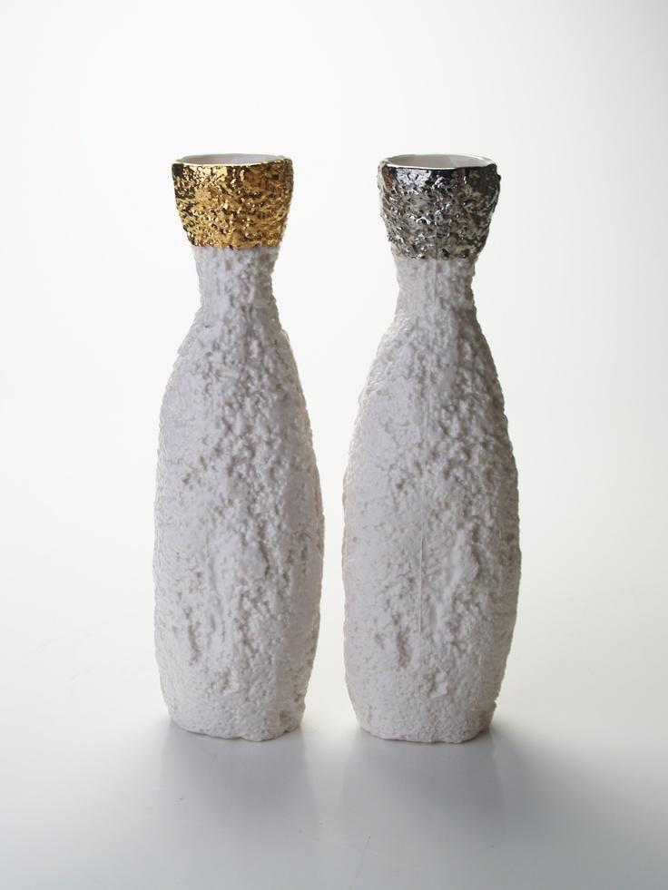 Styroware Bottle Vases