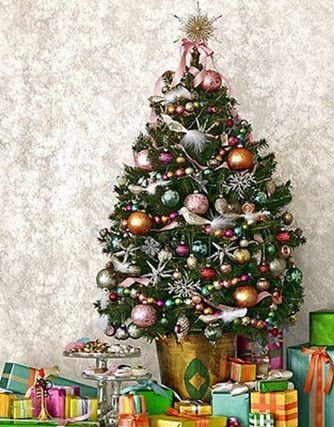 rboles pequeos de navidad ideales para