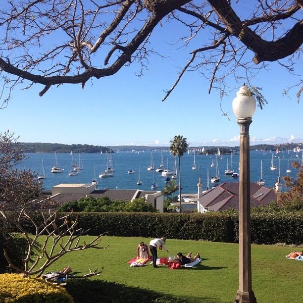 Elizabeth Bay Park Sydney