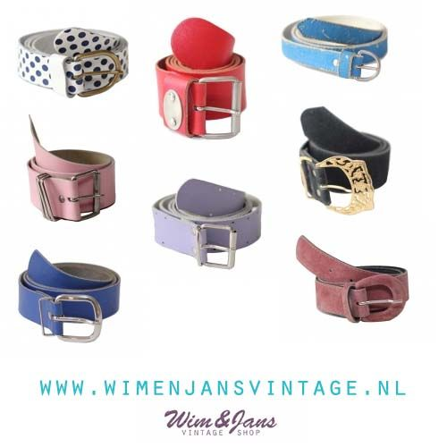 Vintage belts Vintage riemen