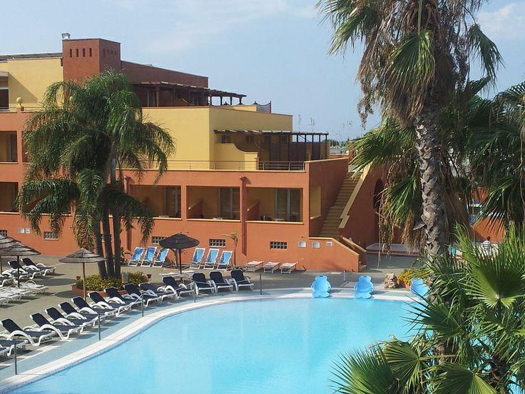 La piscina dell'Esperia Palace Hotel Vacanze in #Salento