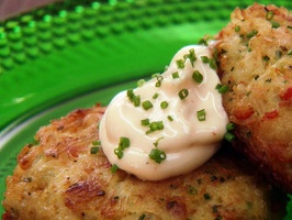 Chuck's Crab Cakes. These are the best ever! www.cookingchanne...