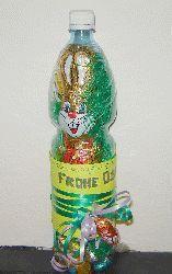 Ostern - Osternest in einer Flasche basteln