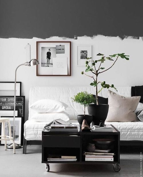 ... Interior Design su Pinterest  Pareti grigie, Verde e Pareti blu scuro