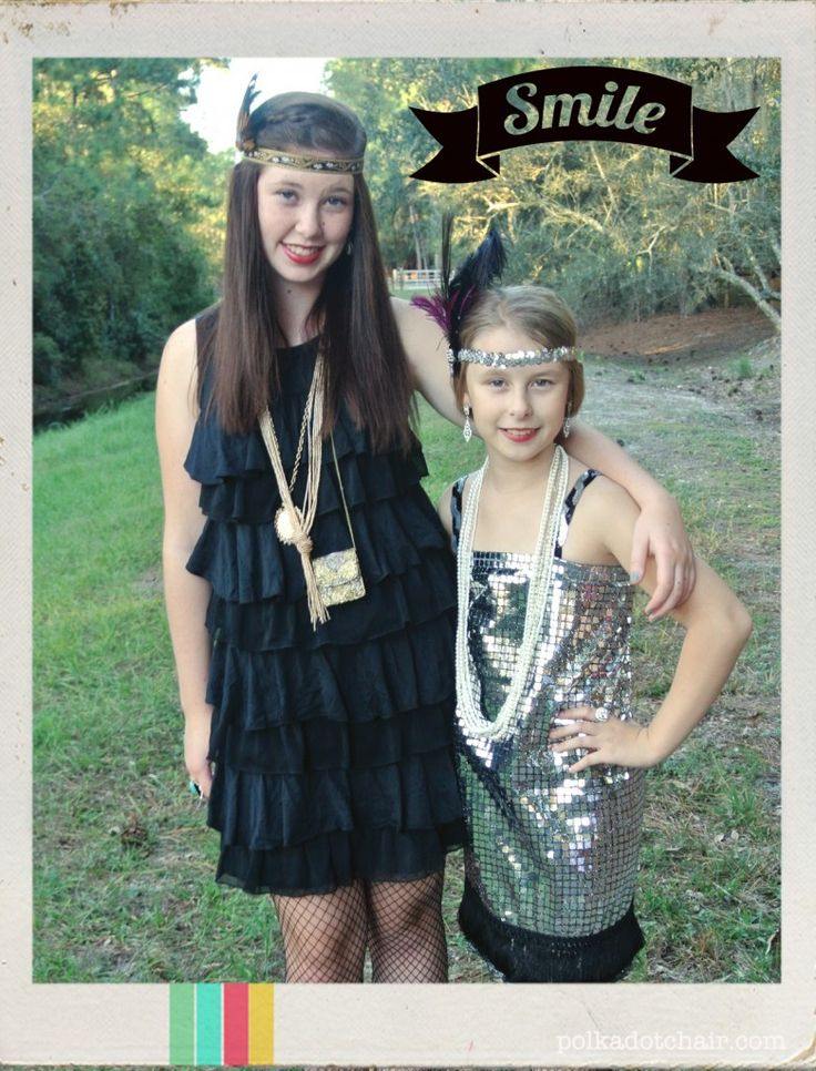 DIY Flapper Halloween Costume Ideas