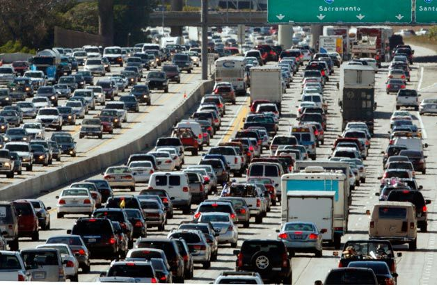 You think your commute stinks? These are the worst traffic jams ever - Autoblog