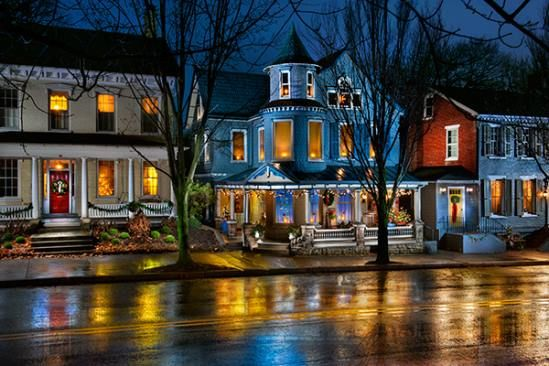 Embark on a leisurely stroll through downtown and straight into an artist's masterpiece, where the cozy glow of light peeks through bare windows and onto the streets on quiet evenings and...