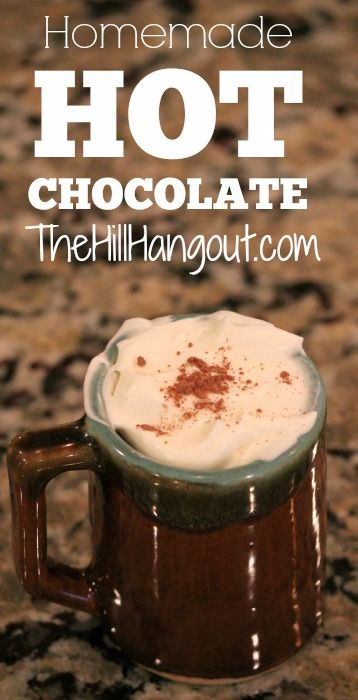 The Hill Hangout shows you how to make hot chocolate mix from scratch. It's easy, all-natural, and cheaper than store-bought mixes.