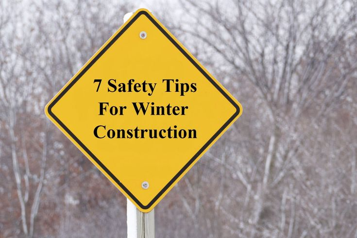 Construction doesn't take a break in the winter. When we manage a construction site during the winter there are additional hazards that winter throws at us. This means we have to take extra safety precautions. Cold temperatures, wet and snowy weather and wind chill can take a harsh toll on our crews. Taking the time to increase everyone's knowledge and awareness of cold weather is very important. This will help avoid issues such as frostbite and hypothermia. Here is a list of safety hazards