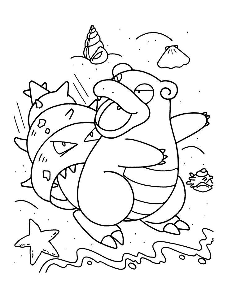 Pokemon Coloring Page Tv Series