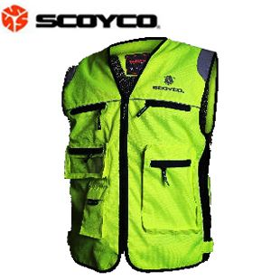 High visibility jacket reflective clothing reflective vest night quality safety clothes.  The only vest I like.  $40.