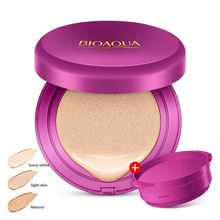 BIOAQUA Air Cushion BB Cream Concealer Moisturizing Foundation Makeup korean cosmetics Whitening Face Beauty Makeup  Price: 8.79 & FREE Shipping  Visit: %HOMEURL%  #shop_now