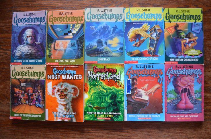 Lot of Goosebumps books all for $20