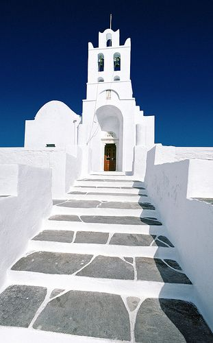 Church on the island of Sifnos, Greece