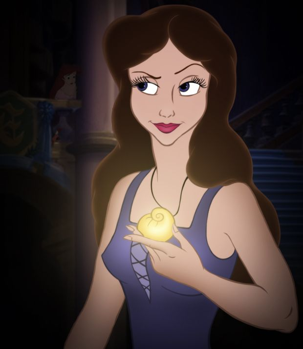 *VANESSA (Ursula's human alter ego, who is reverted back to Ursula on the third day + dies when Eric stabs her in the film) ~ The Little Mermaid, 1989