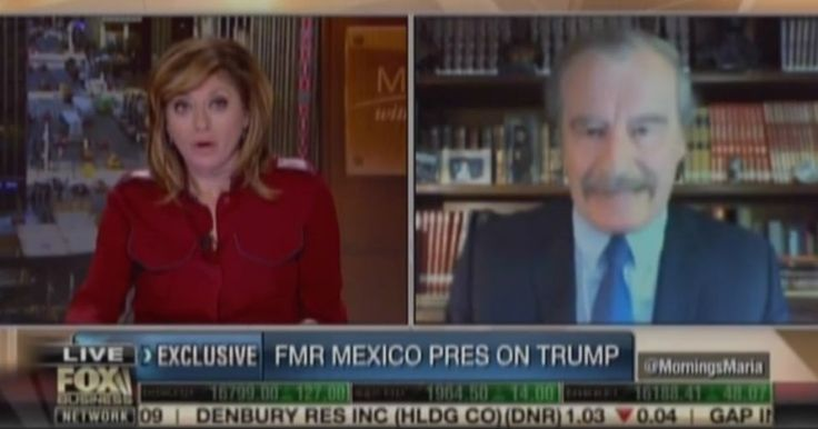 "Vicente Fox Doubles Down on Trump, Drops ANOTHER F-Bomb, Refuses to Apologize ""I am not going to pay for that f**king wall!"""