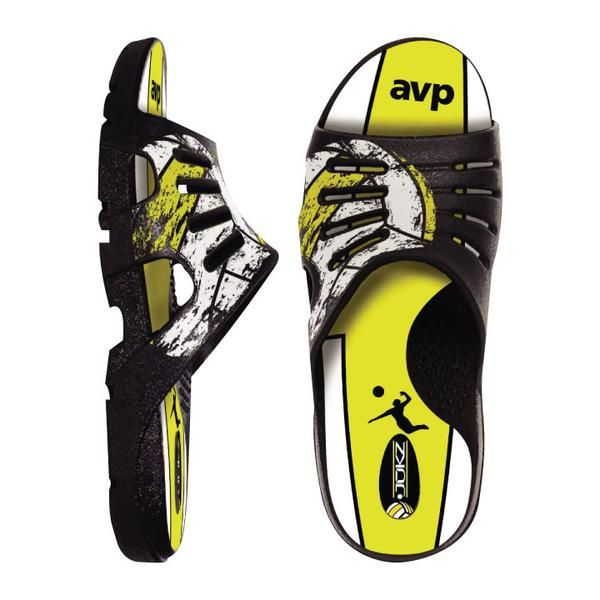 AVP Volleyball Shoes made from the ACTUAL AVP VOLLEYBALLS!