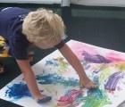 DIY eco non-toxic finger paint!
