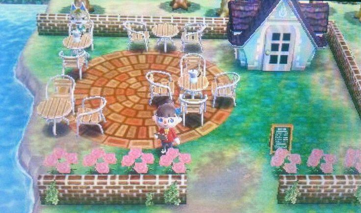 Outdoor Cafe Outdoor Cafe Animal Crossing Happy Home Designer
