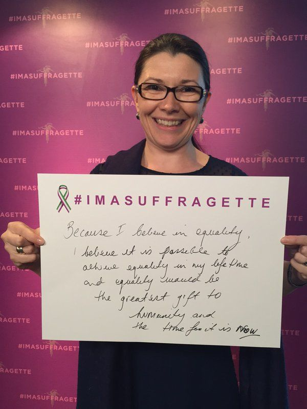#imasuffragette because equality would be the greatest gift to humanity #inspiringwomen #suffragette https://t.co/qz6mooriIh