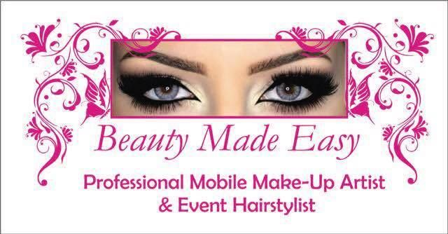 Beauty made easy will make you look even more beautiful for any occasion! Make-up Artist, Hair and Image Stylist. Contact : 084 587 0319 #Beauty #SMCMidlands