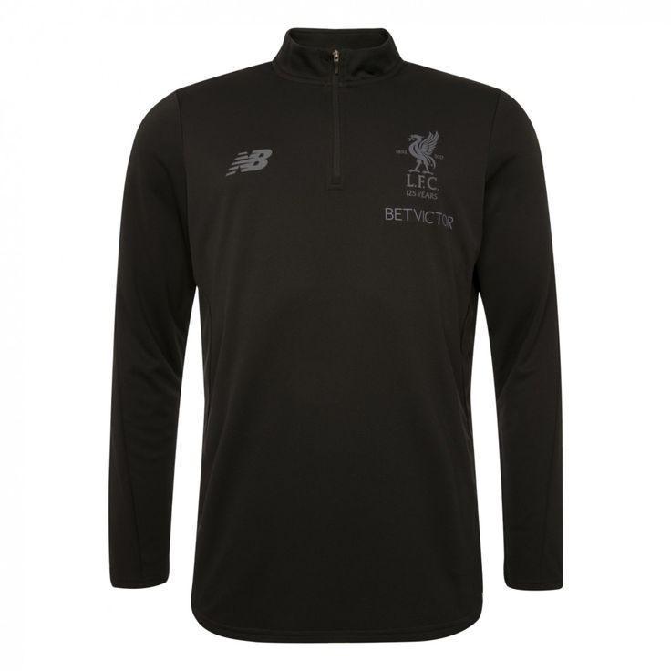 Buy LFC Mens Black Training Zip Sweat 17/18 | Liverpool FC Official Store