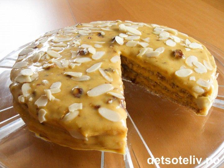 Kong Oscar II's kake | Det søte liv