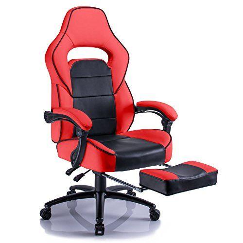 Aminiture Big and Tall Gaming Chair, Executive Reclining