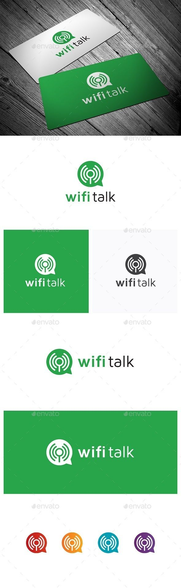 Wifi Talk — Vector EPS #search #chat • Available here → https://graphicriver.net/item/wifi-talk/9869732?ref=pxcr