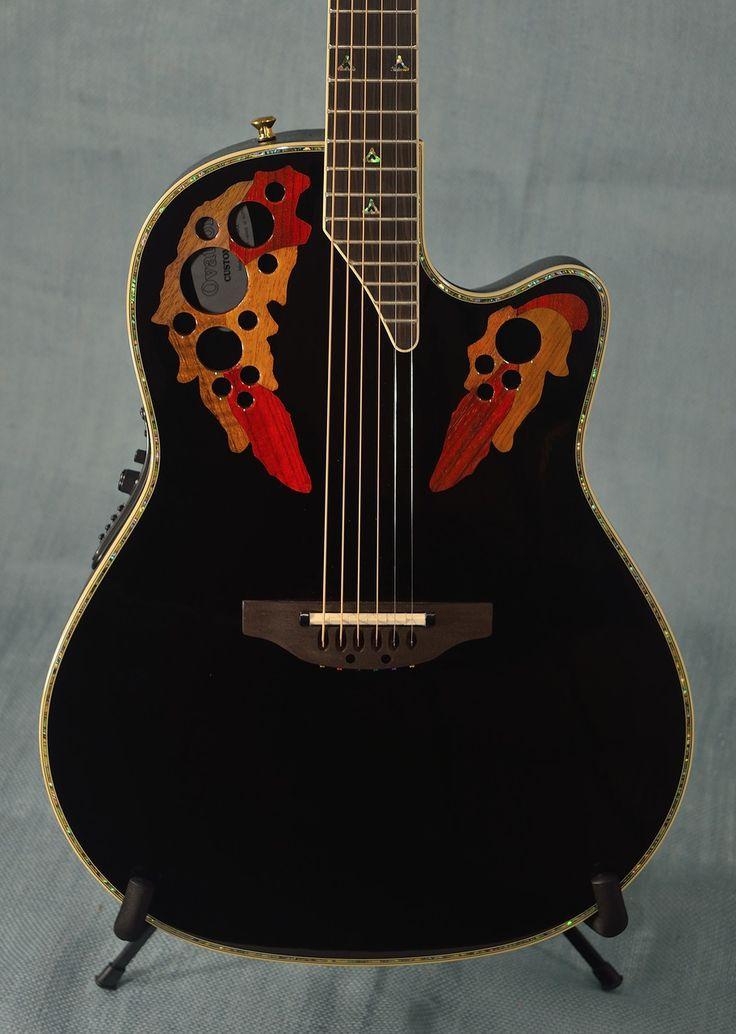 61 best guitar images on pinterest guitars musical instruments ovation c2078ax custom elite acoustic electric guitar black indian creek guitars cheapraybanclubmaster Images