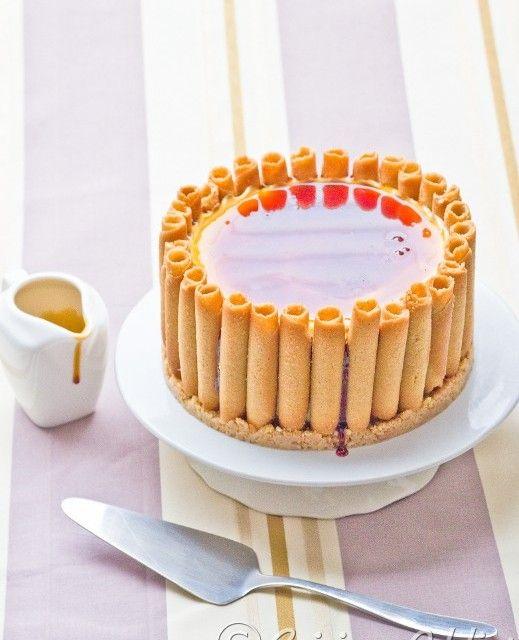 Cheesecake sans cuisson aux Cigarettes russes