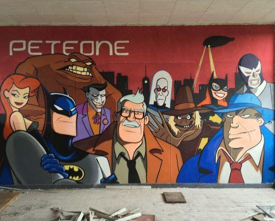 Batman sokak sanatı