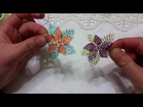 &&  Son haftaların popüler modeli örümcek ağını yaptım&&en yeni iğne oyaları  &&diy&& - YouTube