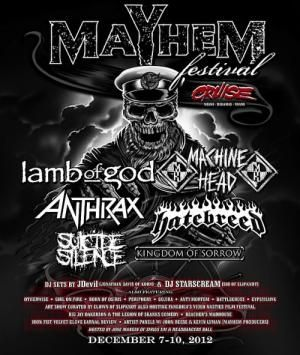 Mayhem Cruise this December!  Metal voyage at sea?  Yes, please.: Cruise Edition, Mayhem Festival, Metals, Metal Design, Festival Cruise, Metal Voyage, Mayhem Cruise
