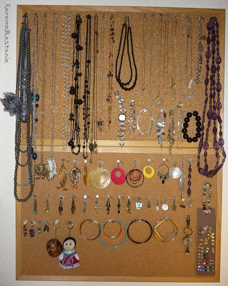 Pinboard for Jewellery