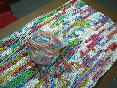 Crocheting For The Homeless : mat crocheted from plastic bags for the homeless ~ can crochet ...