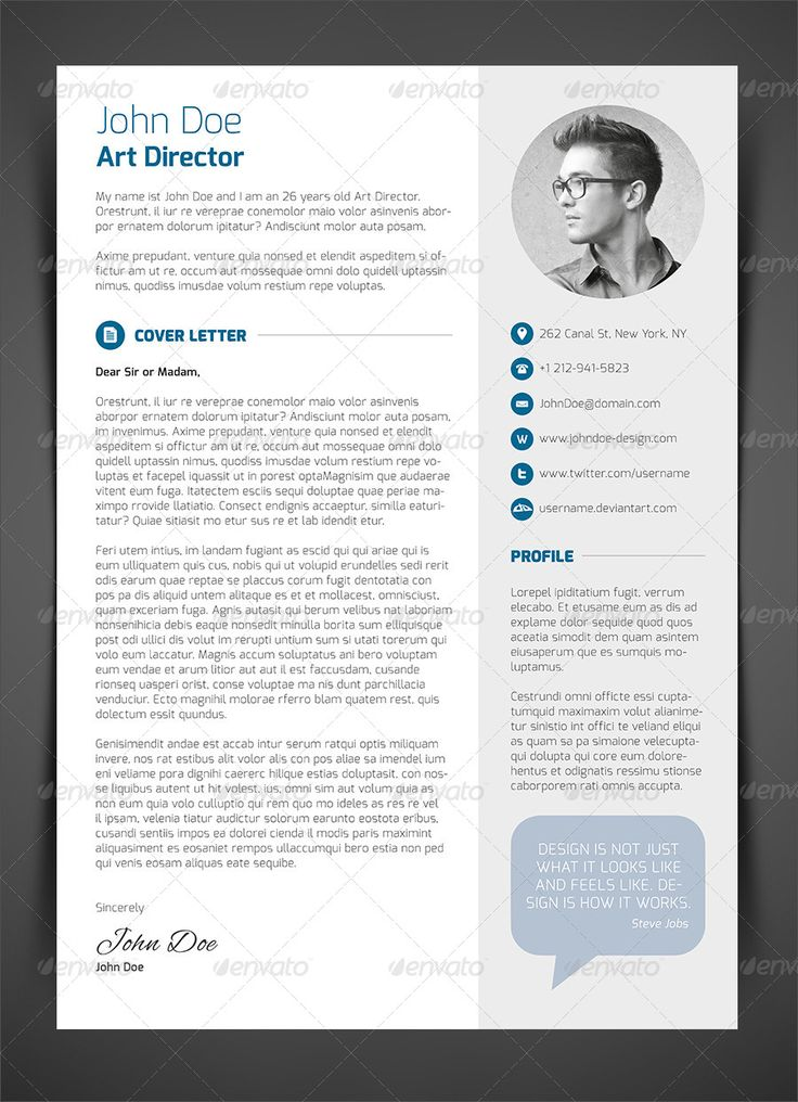 27 best curriculum vitae images on Pinterest Cv template, Resume - attractive resume templates