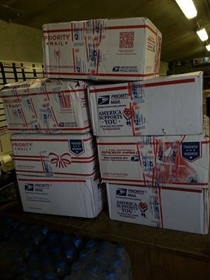 Christopher Roy Gilmore, 88M @ ICTC shares.....''So, today started off pretty iffy, was in kinda a bad mood. There was some tensions at the workplace, but when mail call came around we were all super surprised when I got these upon opening them up and discovering done much needed essentials, it was like Christmas! All of us here at 297 thank Cassie Robertson and the Argo community and Cody Tesar! You lifted the spirits and the morale of this company greatly. Thank you all so much for this!''
