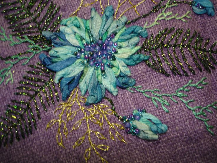 Best lazy daisy and chain stitch images on pinterest