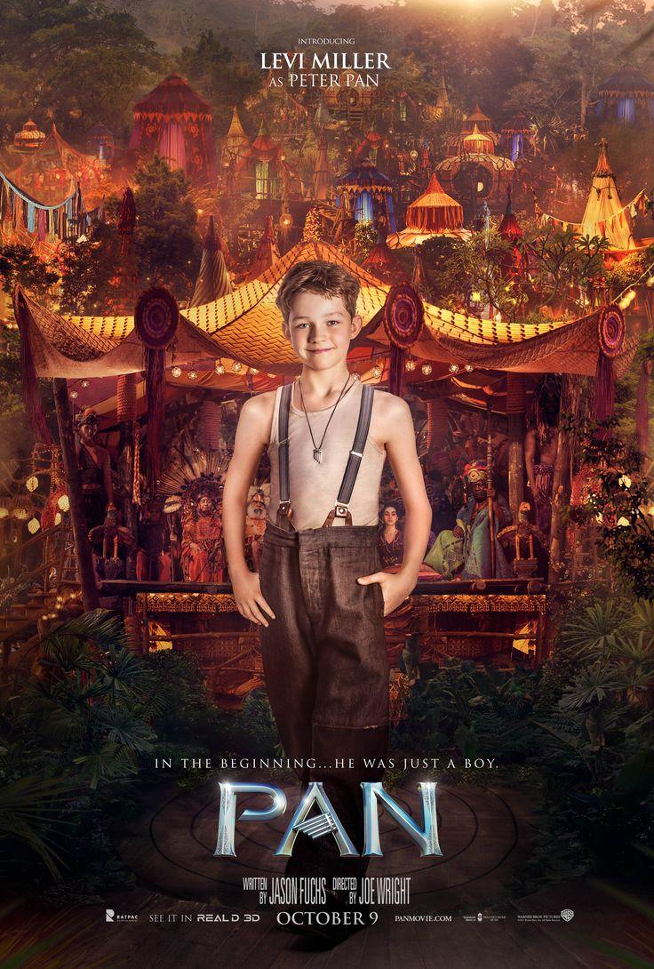 PAN (2015) - Levi Miller as Peter Pan