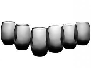 Conjunto de Copos em Vidro 6 Peças - Cisper Bellize Gray Long Drink