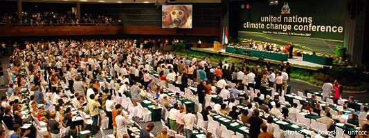 "United Nations Climate Change Conference in Bali Indonesia, United Kingdom's Foreign and Commonwealth Office presented the video ""Good morning, Earth"". Written and directed by Gerald Betita. Thompson was video editor/art director, December 3-14, 2007"